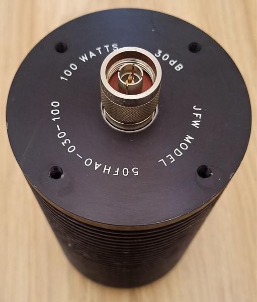 Продам Измерительный аттенюатор JFW 30dB, 3GHz, 100W