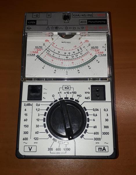 Продам Тестер Ц43104