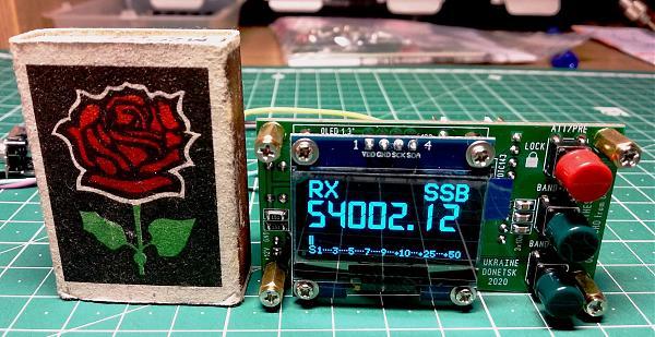 "Продам OLED MICRO"" синтезатор частот HF+50 МГц"