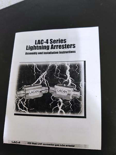 Продам Грозоразрядник Cushcraft LAC-4H