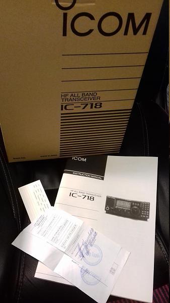 Продам icom ic-718