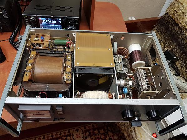 Продам Усилитель мощности КВ 500 Вт на лампе ГИ-23