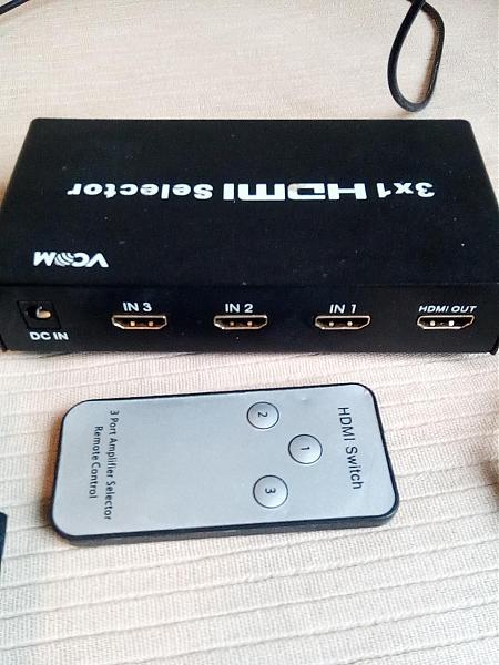 Продам 3Х1 HDMI selector (хаб)