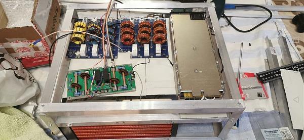 Продам 4 x SD2933 водяное охлаждение недострой