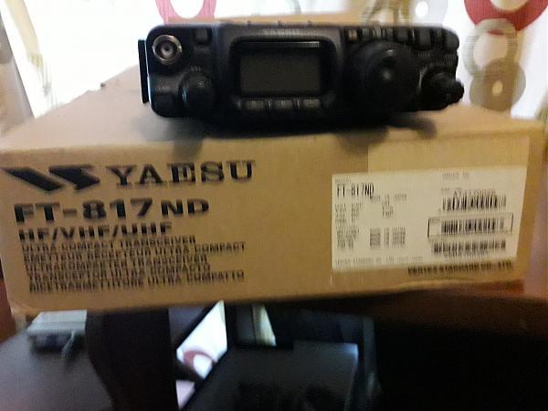 Продам FT-817nd