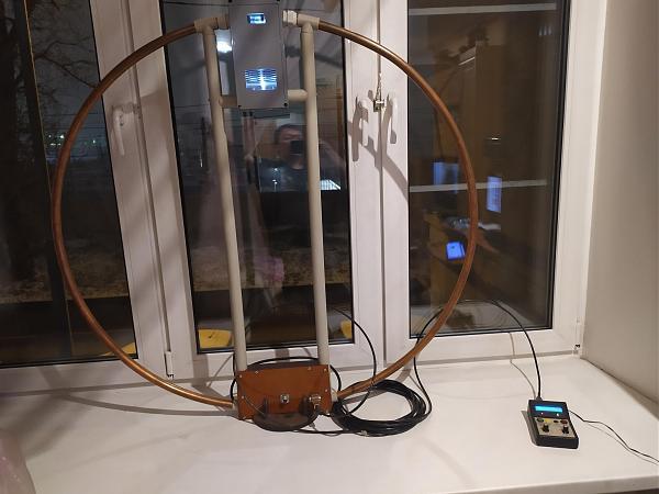 Продам Magnetic loop