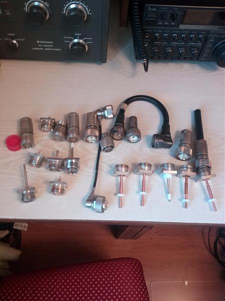 Продам вч разъёмы 7-16 кабельные