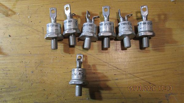 Продам Тиристоры ТЧ-25,ТЧ-50-9, ТЧ-63