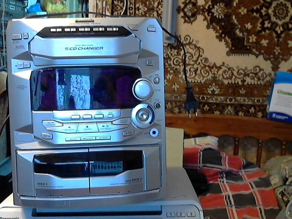 Продам музцентр и акустика-SB-VK-62.панас-2шт-6 ом