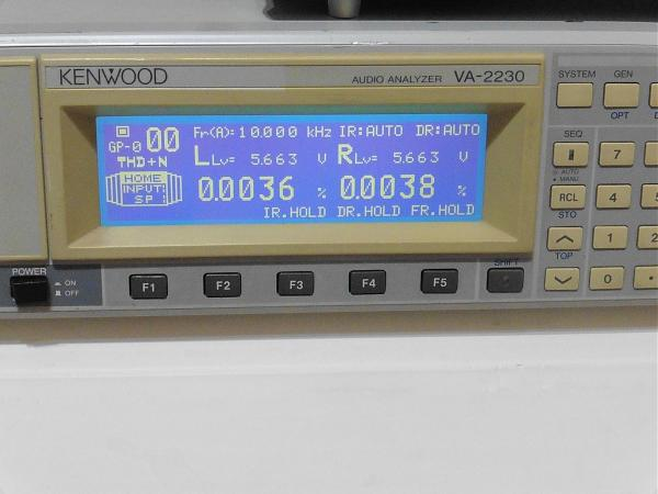 Продам Аудио анализатор kenwood VA-2230