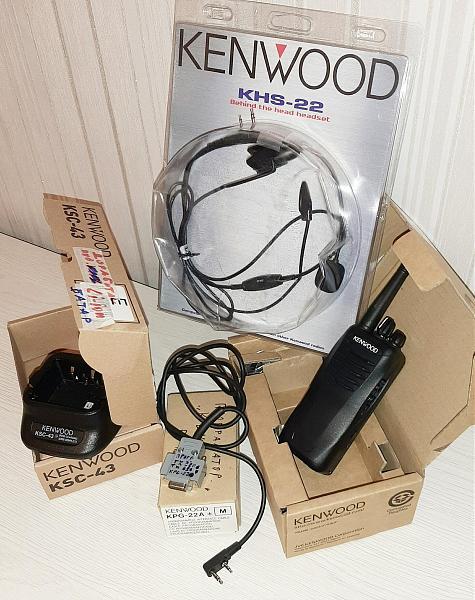 Продам Радиостанции 4шт KENWOOD TK3407M2 400-470мГц