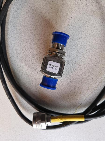 Продам Усилител + Грозоразрядник + ВЧ кабели
