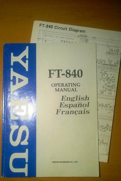 Продам мануалы для ic-746pro ft-840 ic-760pro