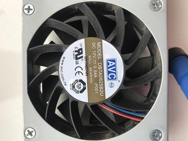 Продам Вентилятор 12В 80x80x25 мм AVC DBTA0825B2U
