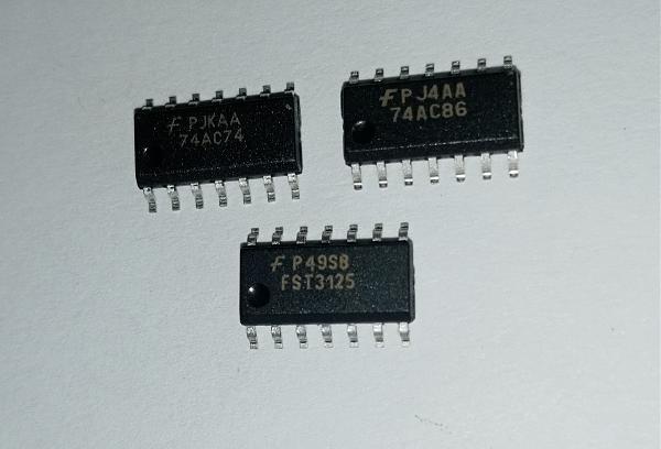 Продам Микросхемы FST3125, 74AC74, 74AC86