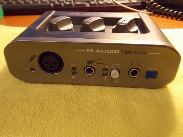 Продам АЦП-ЦАП Fast Track от М-Аудио