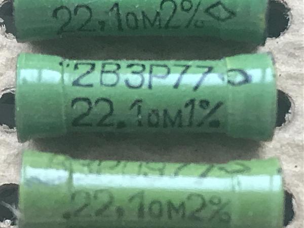 Продам Резисторы СССР 2%