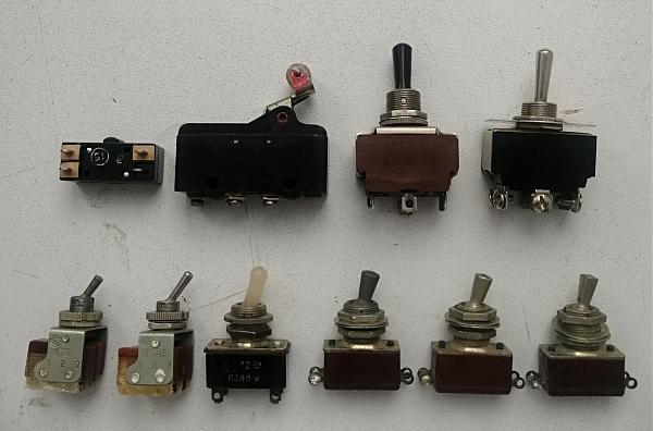 Продам Тумблеры АЗС ТВ1-2 П2Т-1 МТ, переключатели