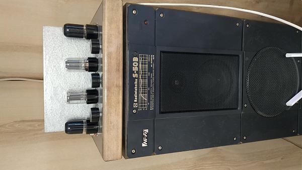 Продам Усилитель на 6П6С и 6Н8С с тембрами