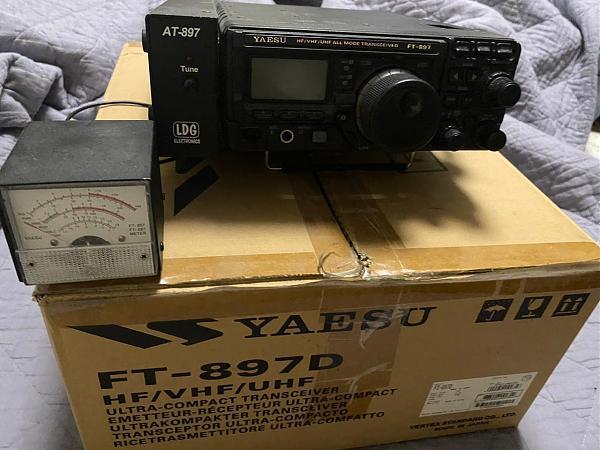 Продам Трансивер YAESU FT897D