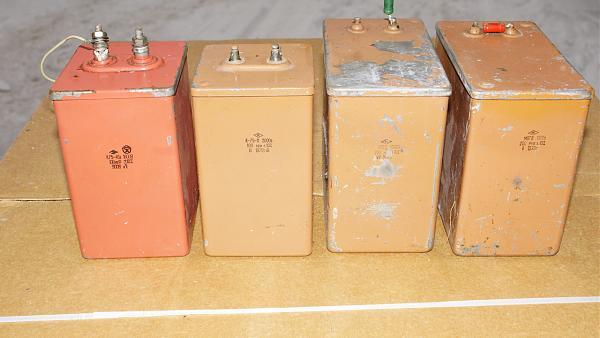 Продам конденсаторы анодные 1000 В