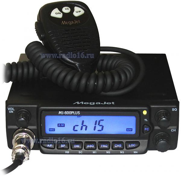 Меняю Радиостанция Си-Би диапазона Megajet MJ-600Plus