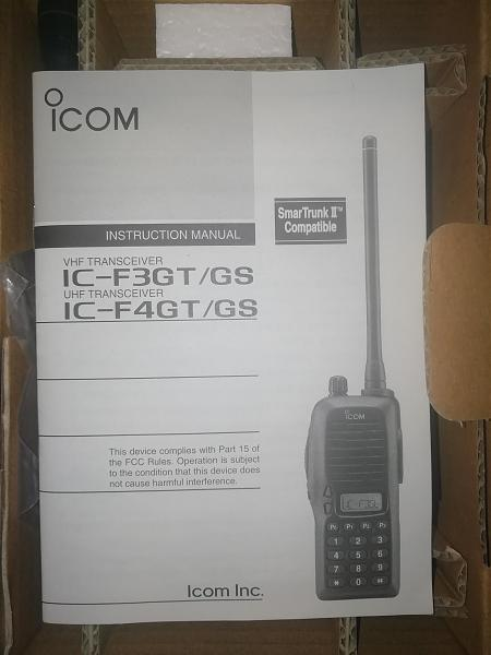 Продам Рации Icom F3GS