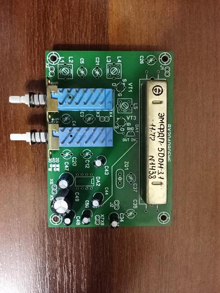 Продам Приемник на двухзатворных транзисторах