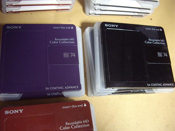 Продам MD диски Sony Bianca - редкие Новые