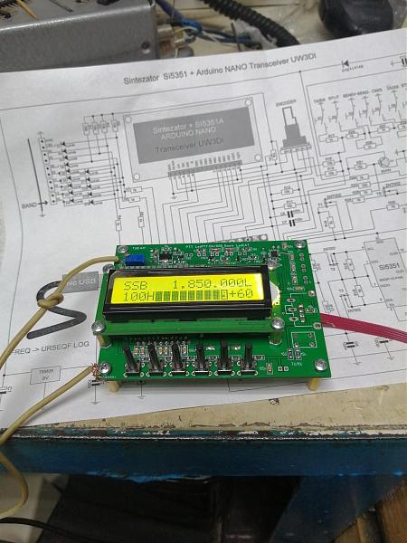 Продам Синтезатор для UW3DI и UA1FA