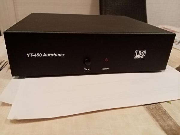 Продам Автоматический антенный тюнер LDG YT-450