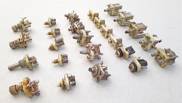 Продам КПЕ конденсаторы переменной емкости