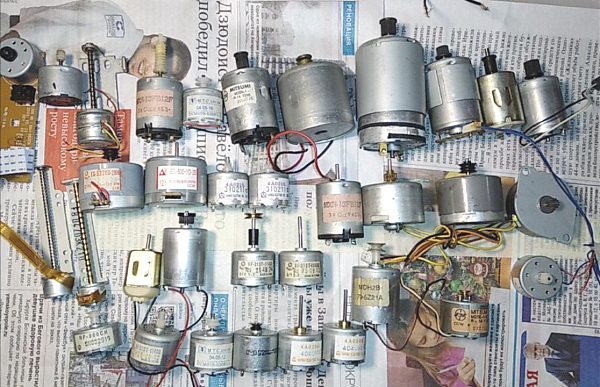 Продам Разнообразные двигатели для РЭА
