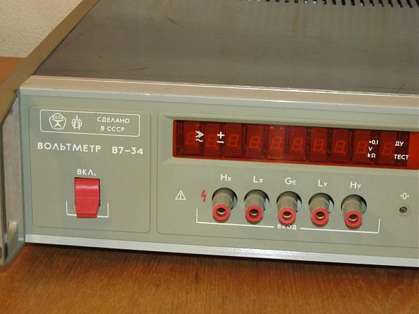 Продам Вольтметр В7-34