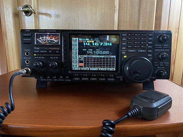 Продам IC-756Pro3