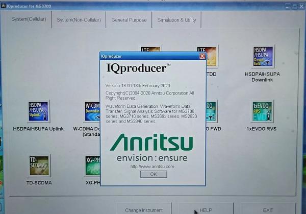 Продам Генератор ВЧ Anritsu MG3700A 250кГц-6ГГц