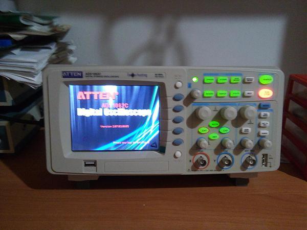 Продам осцилограф ATTEN ADS1062C