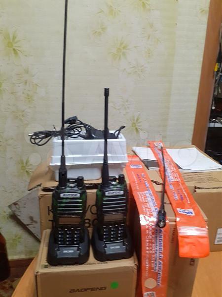 Продам Две рации UV-8 8 ватт + две антенны NA-771
