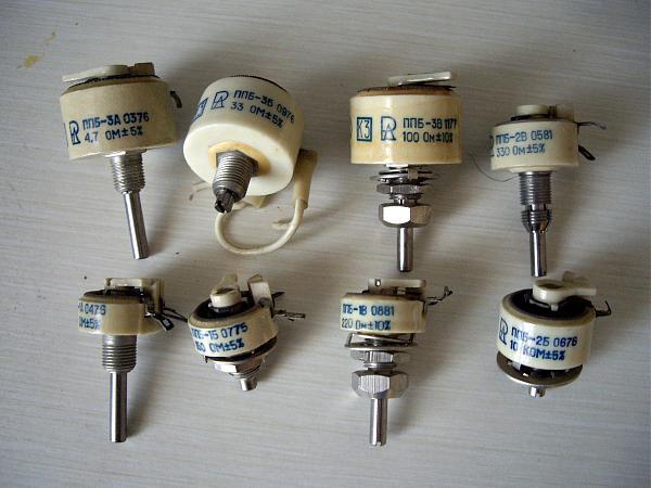 Продам Сопротивления переменные ппб,пп3-11,пп3-12,ппб-15Г