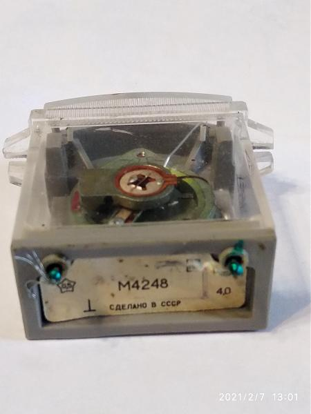 Продам микроамперметр М4248 100мка
