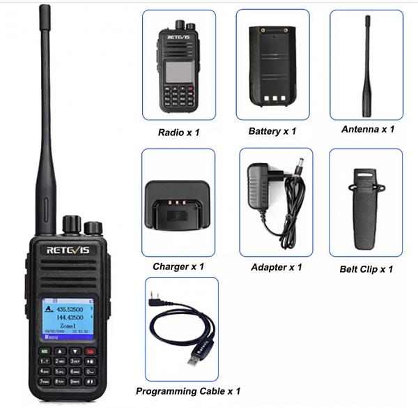 Продам Цифро-аналоговая радиостанция RETEVIS RT3S DMR