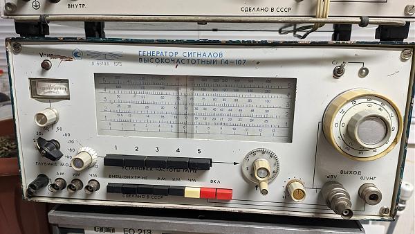 Продам осциллограф, вч вольтметр, генераторы вч