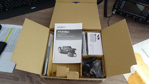 Продам Комплект Yaesu FT-818ND