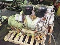 Продам Двигатель судовой ЯАЗ-204 и реверс-редуктор СРРП