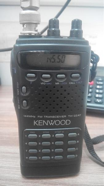 Продам УКВ Кенвуд TH 22AT