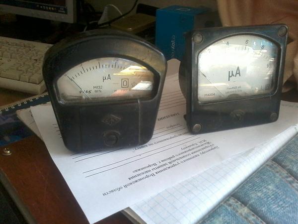 Продам гальванометр микроамперметры и вольтметры