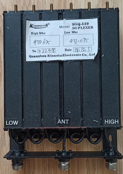 Продам Дуплексер 430-440мгц