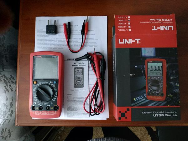 Продам Мультиметр UNI-T UT-58D