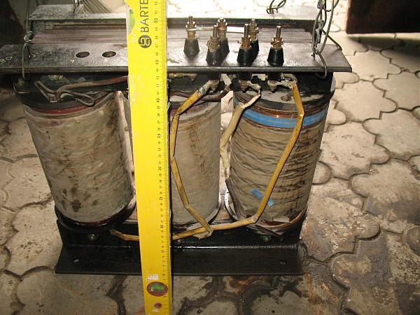Продам Анодный трансформатор 3-фазный на 3000 вольт,5 Квт