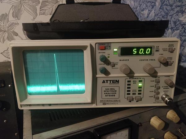 Продам Анализатор спектра atten at 5005